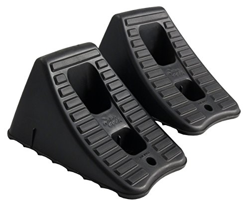 Hopkins FloTool 11930MI Heavy Duty Wheel Chock, (Pack of 2)