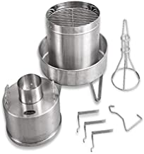 """Orion Cooker The Convection BBQ Smoker - Large - 37"""" Height x 17 ½"""" (Cooking Cylinder) x 24"""" (Lower Charcoal Ring)"""