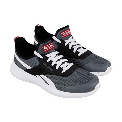 Reebok Royal EC Ride 2 Shoe Unisex Running 10 Alloy-Black-White-Red