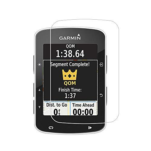 Zshion Protector de pantalla para Garmin Edge 520 Plus, dureza 9H, protector de pantalla de vidrio templado para Garmin Edge 520 Plus con antihuellas dactilares sin burbujas (3 unidades)