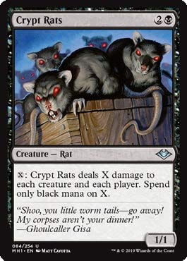 Magic: The Gathering - Crypt Rats - Modern Horizons