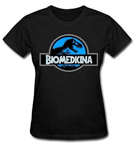 Camiseta e Babylook blusa Biomedicina Biomedico unissex tshirt t-shirt (Camiseta - P, Preto)