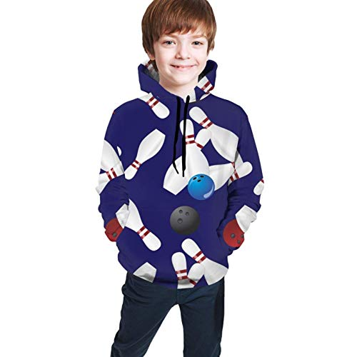 XCNGG Crazy 3D Printed Hoodies Cool Sweatshirt Pullover for 7-20 Years Ages