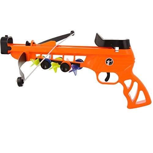 BestSaller- Pistola Ballesta Petron con Diana, Color Naranja (3268)