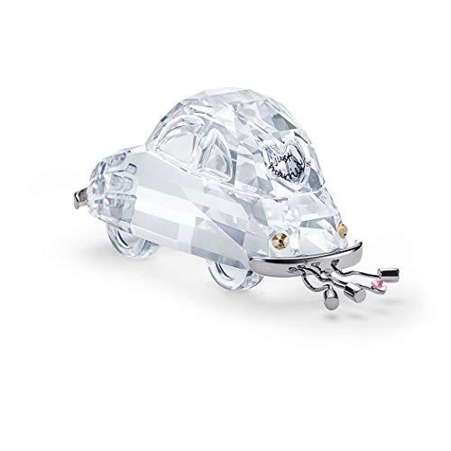 Swarovski with Love Figurine, Kristall, Weiß/Silber, 3.4 x 7.7 x 3 cm
