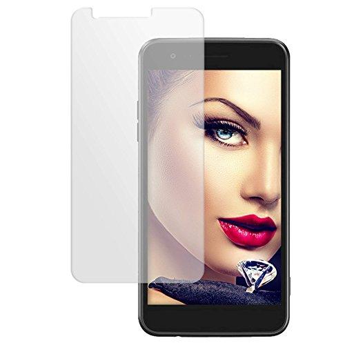 Preisvergleich Produktbild mtb more energy® Schutzglas für LG K4 2017 (M160,  5.0'') - Glasfolie Display Schutzfolie Tempered Glass