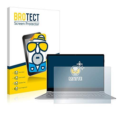 BROTECT Entspiegelungs-Schutzfolie kompatibel mit TrekStor Primebook P15 Bildschirmschutz-Folie Matt, Anti-Reflex, Anti-Fingerprint