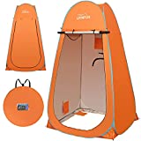 LUVNFUN 6.9 FT Pop Up Camping Shower Tent, Portable Changing Room Privacy Shelter Tent for Outdoor...