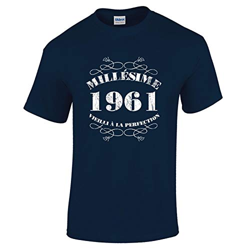 Bang Tidy Clothing T-Shirt Anniversaire Homme 60 Ans MillAsime 1961