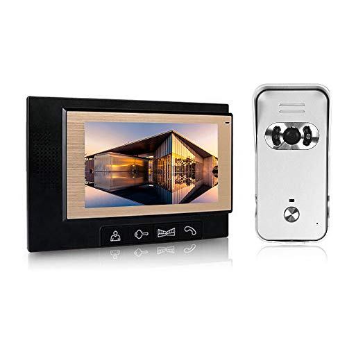 OWSOO 7 inch LCD Couleur Visiophone Interphone...
