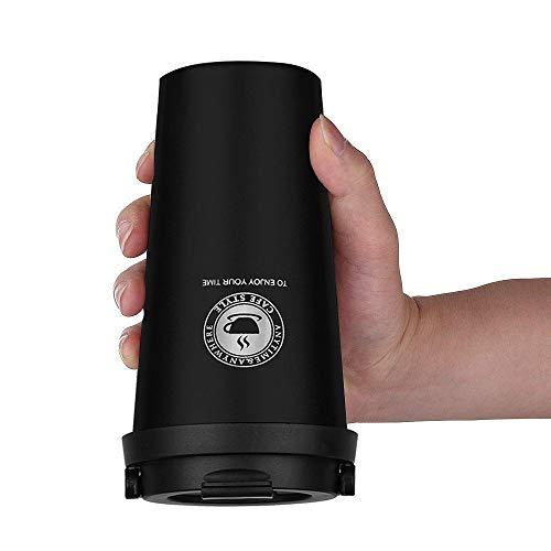 Tazza da viaggio da caffè, Bottiglia in Acciaio Inossidabile, 100% a prova di perdite per caffè e tè e latte(500ML) FBA Shipping