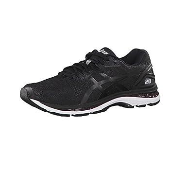 ASICS Men s Gel-Nimbus 20 Running Shoe Black/White/Carbon 9 2E US