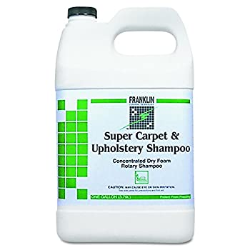 Franklin Cleaning Technology F538022CT Super Carpet & Upholstery Shampoo 1 Gallon Bottle  Case of 4 Bottles