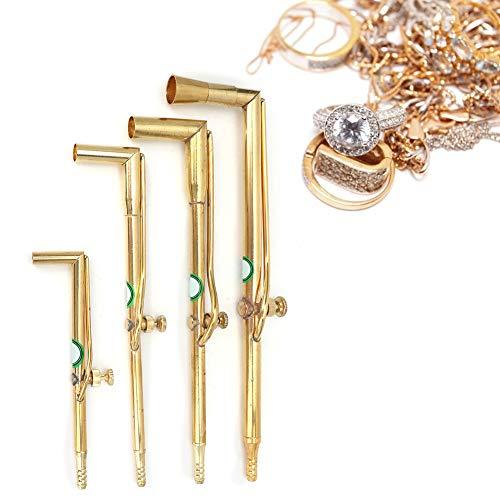 Equipo de fabricación de procesamiento de joyas Fabricación de joyas, antorcha de soldadura con pistola de llama Antorcha de joyería, súper duradera para relojeros Reparación de Wacth