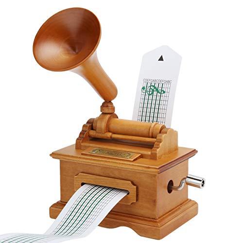 TANKE Carillon - Carillon per grammofono Carillon Vintage a manovella a manovella Regali di Natale...
