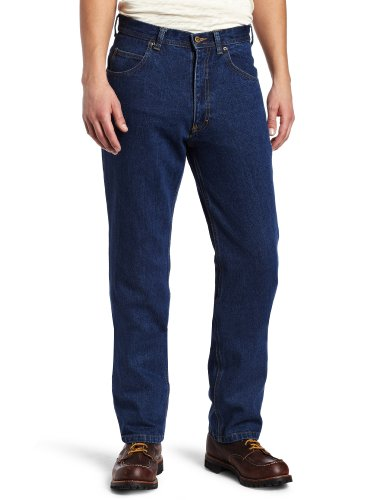 Key Industries Herren Jeans Heavyweight 5-Pocket - Blau - 42W / 30L