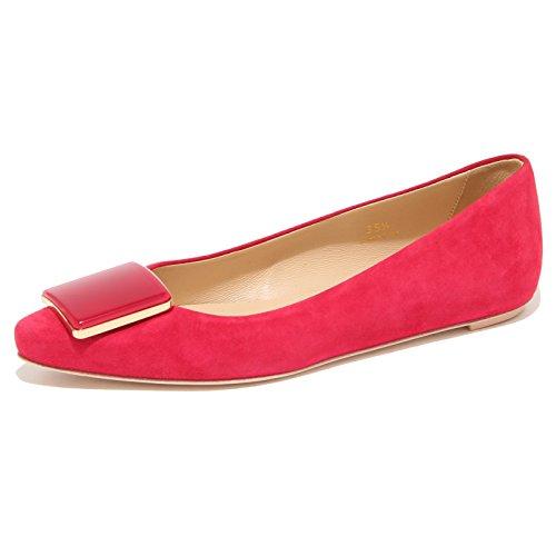Tod's 96486 Ballerina Cuoio Scarpa Donna Shoes Women [35.5]