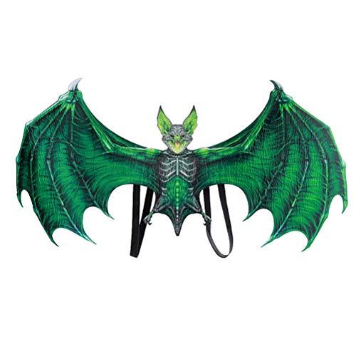 Egosy Accesorios de Cosplay Alas de Demonio Niño Niña Divertido Disfraz de Halloween Wawel Dragón Decoración Fiesta de Navidad Juguete Alas de Vestir