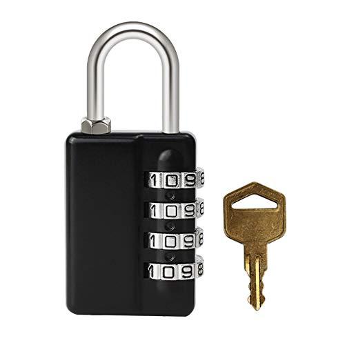 GZ-Lock Schlüssel Passwort Vorhängeschloss Kabinett Tasche offen offenes Vorhängeschloss 6 Passwort Anti-Diebstahl-Sperre Turnhalle kleines Vorhängeschloss