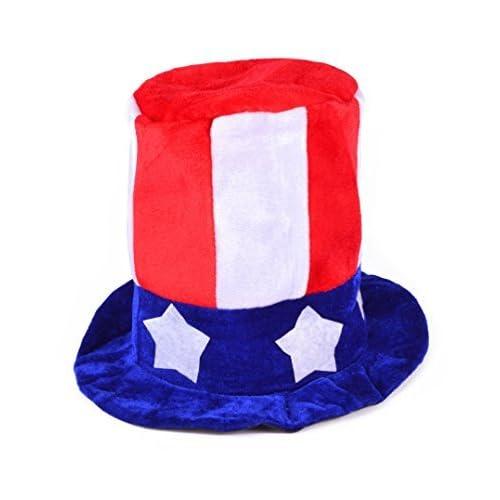 c33bc62873dd Uncle Sam Costume Top Hat Adult
