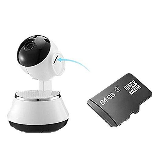 Wireless WiFi IP Kamera Home Baby Security Monitor WiFi Netzwerk verbinden intelligente ¨¹berwachungskamera Strahlungsfrei mit 64G TF Karte
