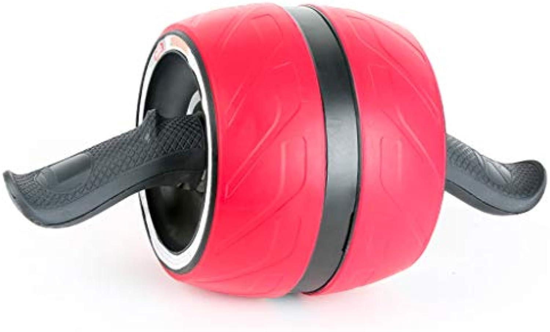 Abdominal Wheel Men's Home Fitness Women's Abdomen Thin Waist Reduction Belly Abdomen Wheel Mute Rebound Roller