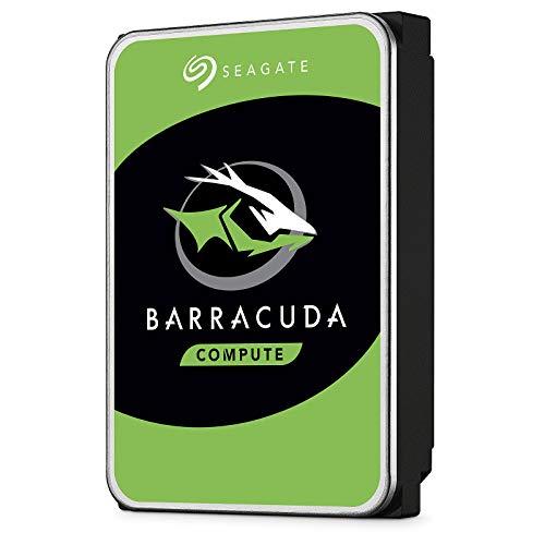 "Seagate Barracuda ST2000DM008 - Hard Disk da 2 TB, interno da 3,5"", SATA 6Gb/s, 7200 rpm, buffer da 256 MB"