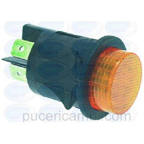 INTERRUTTORE BIPOLARE ARANCIO 16A 250V 3319949