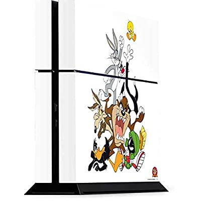 Skinit Decal Gaming Skin for PS4 Console - Officially Licensed Warner Bros Looney Tunes All Together Design