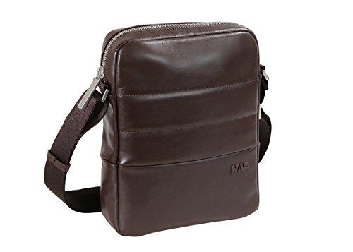 NAVA Shoulder bag for tablet dark brown