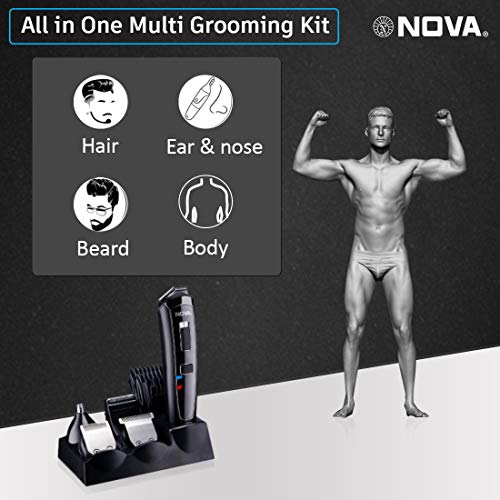 Nova All in One Head to Toe Men Grooming Kit