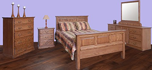 Review Of Forest Designs Traditional E King Panel Bed & Chest & Dresser & Mirror & Nightstand W King...