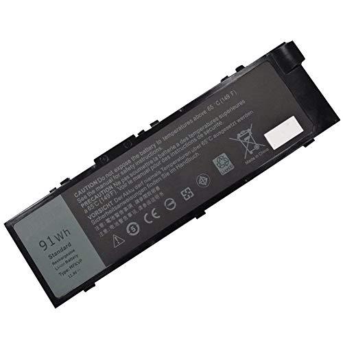 XITAIAN 114V 91Wh MFKVP GR5D3 0RDYCT Ersatz Laptop Akku fur Dell Precision 7510 7710