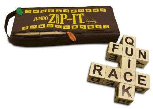 Jumbo Zip-It Word Board Game