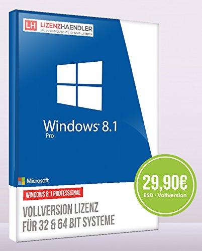 Windows 8.1 Professional 32/64bit licenza ESD (elettronica) no DVD