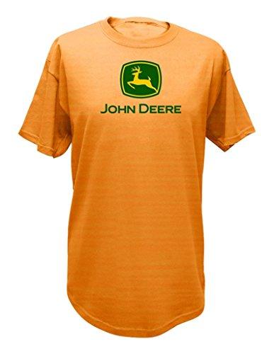 John Deere–Camiseta–Hombre, Hombre, 13000000, Light Pumpkin, XX-Large