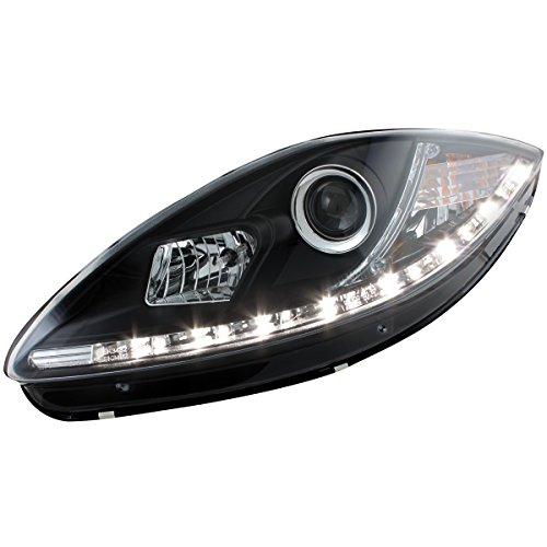 Dectane SWSI04AGXB DAYLINE Scheinwerfer Seat Leon 05-09 _1P1_TFL-Optik black
