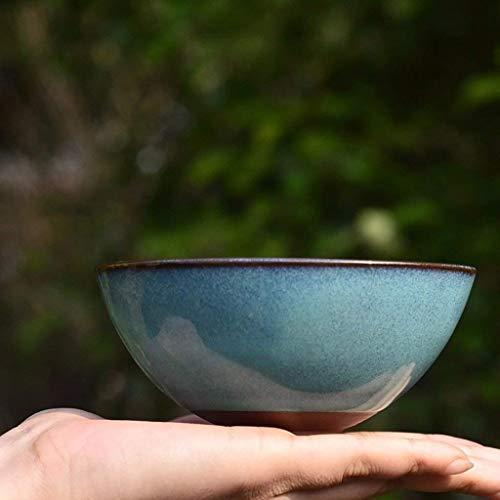 WAN Glasur Keramik Müslischale Set Kitchenaid Küchenmaschine Rührschüssel Obstsalat Nudelsuppe Serving Dip Abwaschschale 4,5 Inch