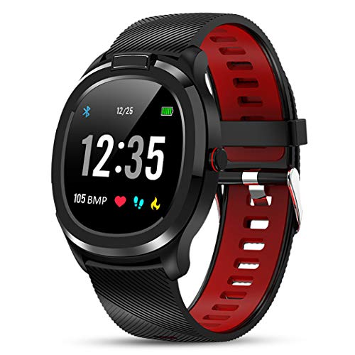 Fitness Smart Horlogemannen En Vrouwen Van IP68 Waterdicht Polsband Heart Rate Lichaamstemperatuur Smart Horloge Voor Monitoring Weer Lichaamstemperatuur