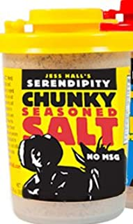 Jess Hall's Serendipity Chunky Seasoned Salt 2.92 Oz (Pack of 3)