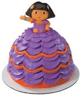 Fiesta Dress Dora the Explorer Petite Cake Topper