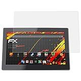 atFolix Schutzfolie kompatibel mit Xoro MegaPad 1564 V2 Bildschirmschutzfolie, HD-Entspiegelung FX Folie (2X)