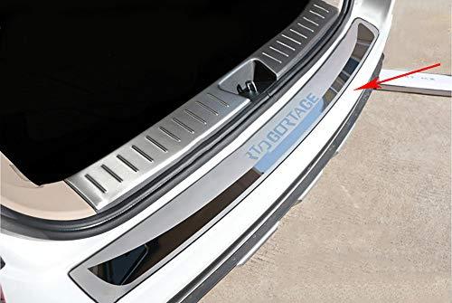 LSYBB Etiqueta Engomada del Coche Styling After Guard Placa De Umbral De La Puerta del Protector del Maletero del Parachoques Trasero para Kia Sportage 2014-2018
