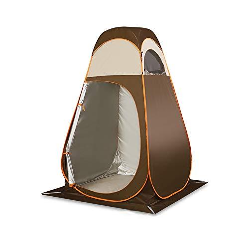 FYHCY Tienda de Campaña Tent, Abrir Cerrar Automáticamente Pop Up Portable Sirve para Camping Playa Bosques Zonas de montaña Ducha Aseo Carpas(120 * 120 * 210CM)