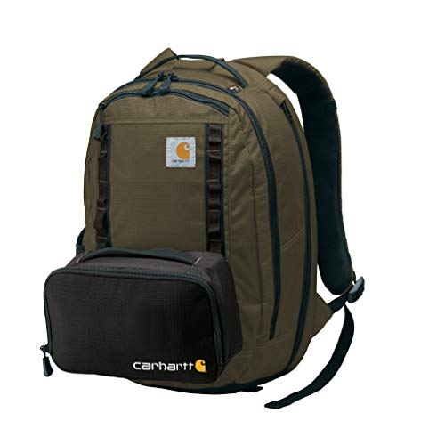 Carhartt Cargo Series Medium Backpack and Hook-N-Haul Insulated 3-Can Cooler, Tarmac