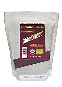 150G acai en polvo organico - 100% puro