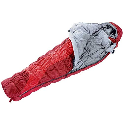 Deuter Exosphere Schlafsack, Unisex für Erwachsene Einheitsgröße Rot (fire/Cranberry)