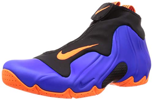 Nike Men's Air Flightposite, Racer Blue/Total Orange-Black, Size 10.5