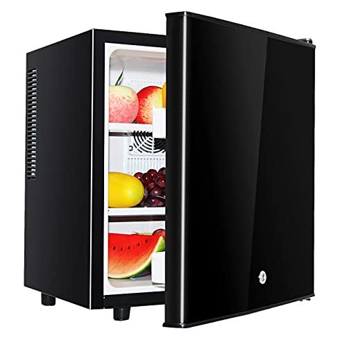 HALIGHT Mini Refrigerador, Refrigerador PequeñO, Control De Termostato Ajustable, DescongelacióN FáCil De Un Toque, Refrigerador Compacto, para Dormitorio, Dormitorio, Oficina