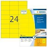 HERMA 4406 Farbige Etiketten DIN A4 selbstklebend